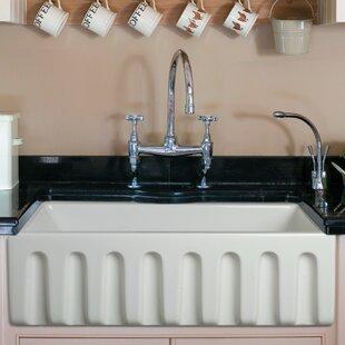 30 farmhouse sink. Reversible Single Bowl Fireclay Farm 30\ 30 Farmhouse Sink