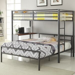 twin over full lshaped bunk bed