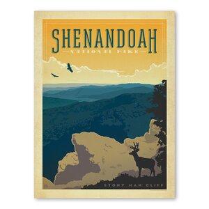 National Park Shenandoah Vintage Advertisement by Americanflat