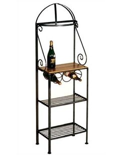 Find for Gourmet Wrought Iron Baker's Rack Purchase Online