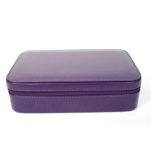 Genuine Leather Travel Jewelry Case by House of Hampton