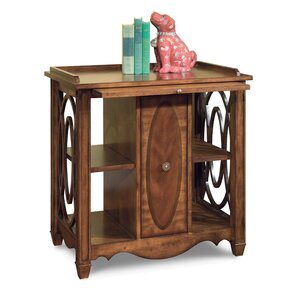 Media Storage End Table by Fairfield Chair