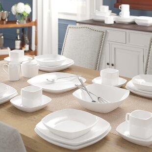Filomena 45 Piece Dinnerware Set, Service for 8