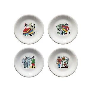 Twelve Days of Christmas Salad Plate  sc 1 st  Wayfair & Decorative Christmas Plates | Wayfair