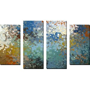 'My Protector' by Mark Lawrence 4 Piece Painting Print on Wrapped Canvas Set by Picture Perfect International