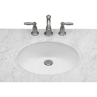 oval undermount bathroom sink with overflow - Undermount Bathroom Sinks