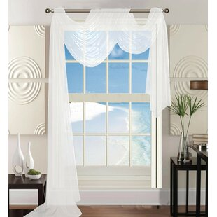 Short Sheer Window Curtains