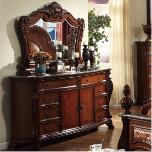 Luxor 8 Drawer Combo Dresser. Luxor 8 Drawer Combo Dresser. By Meridian  Furniture USA