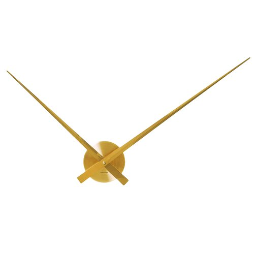 Wanduhr Little Big Time World Karlsson Farbe: Gold | Dekoration > Uhren > Wanduhren | Karlsson
