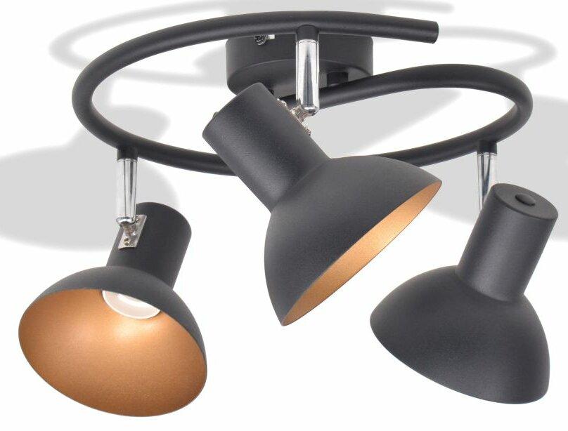 Tinsman 3-Light Ceiling Spotlight