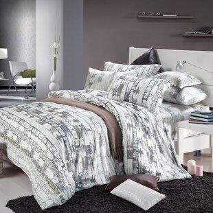 Inexpensive Lara 220 Thread Count 100% Cotton Sheet Set ByUnion Rustic