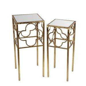 Medina 2 Piece End Table Set by Rosdorf Park
