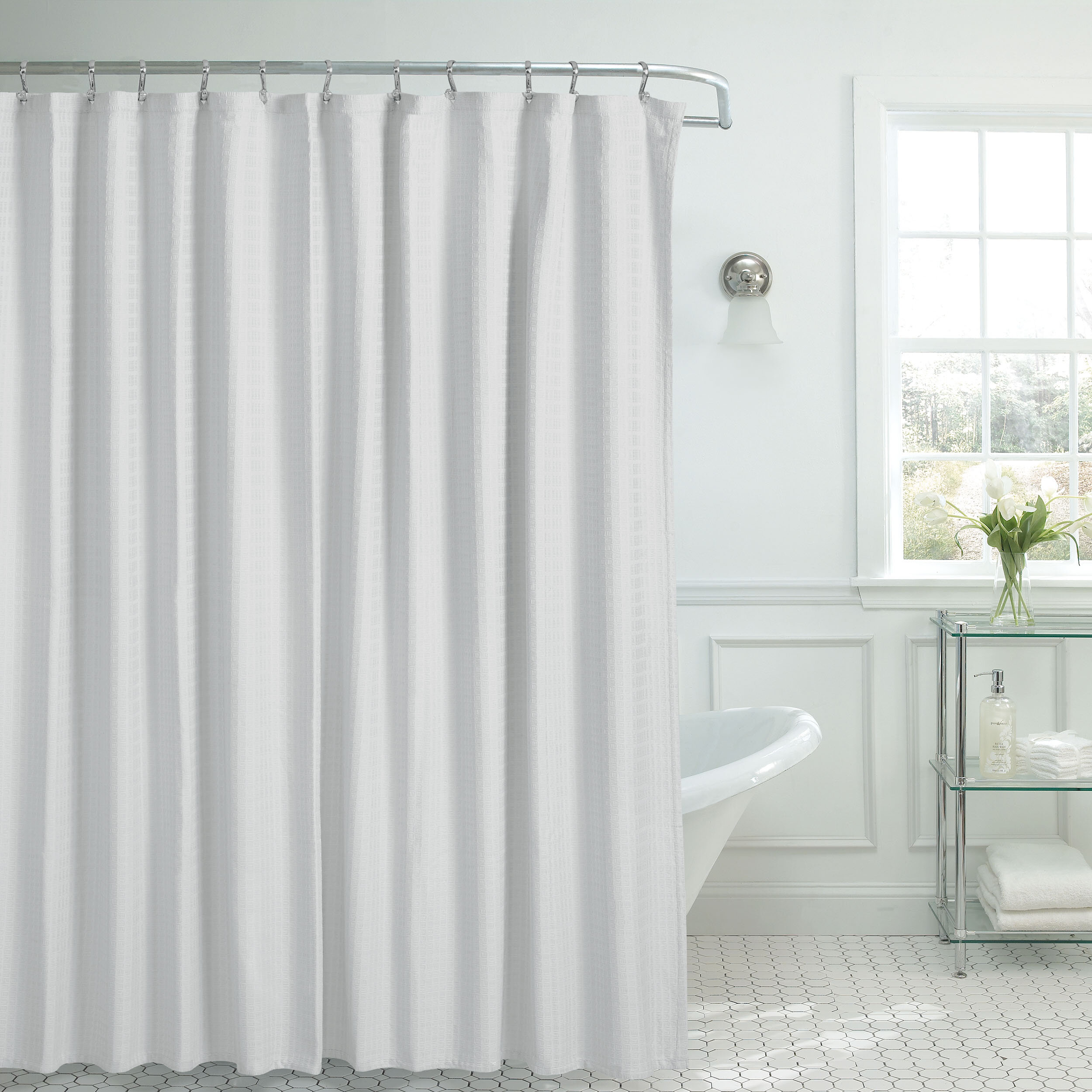 French Connection Shower Curtain 100 Cotton Single