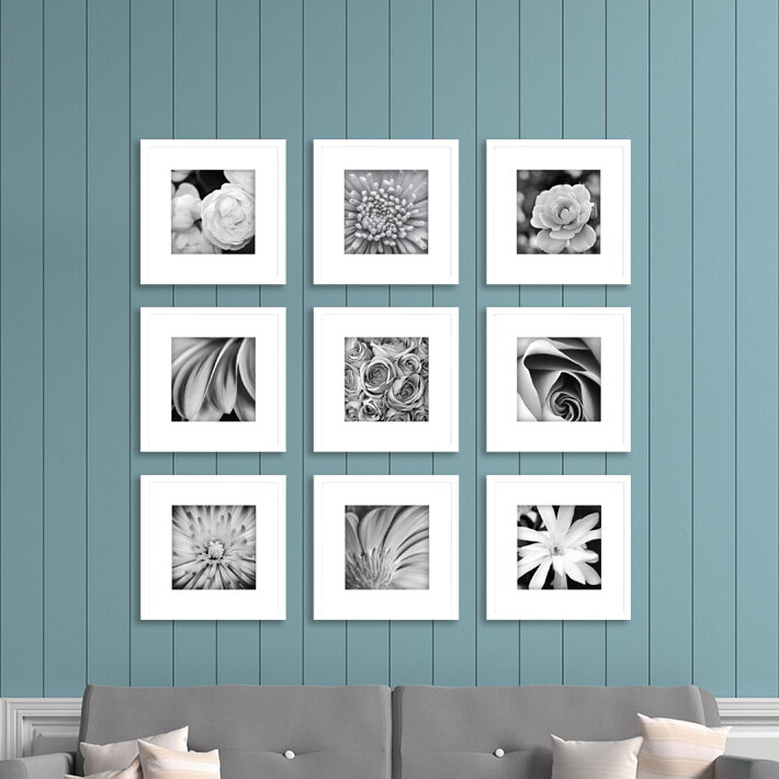 Nielsenbainbridge Gallery Perfect 9 Piece Picture Frame Set Reviews Wayfair