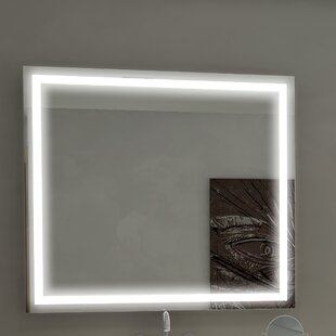 Online Reviews Harmony Illuminated Bathroom/Vanity Wall Mirror ByParis Mirror