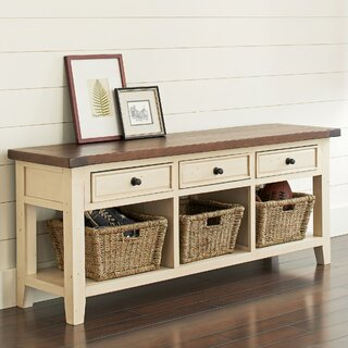 Whitaker Wood Storage Bench by Birch Lane� Heritage SKU:BA353334 Reviews