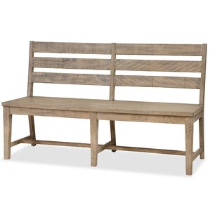 Bjoern Solid Wood Bench by 17 Stories