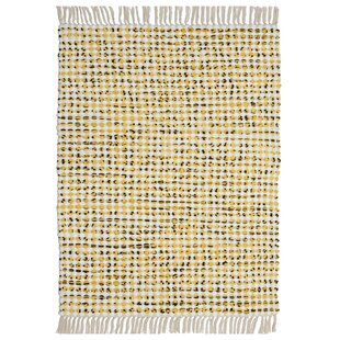 Complex Hand Loomed Yellow Area Rug By St Croix