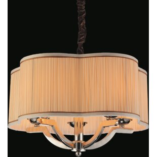 Best Reviews Serta 5-Light Chandelier By CWI Lighting