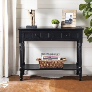 Manning 2 Drawer Console Table Beachcrest Home Top Reviews ...
