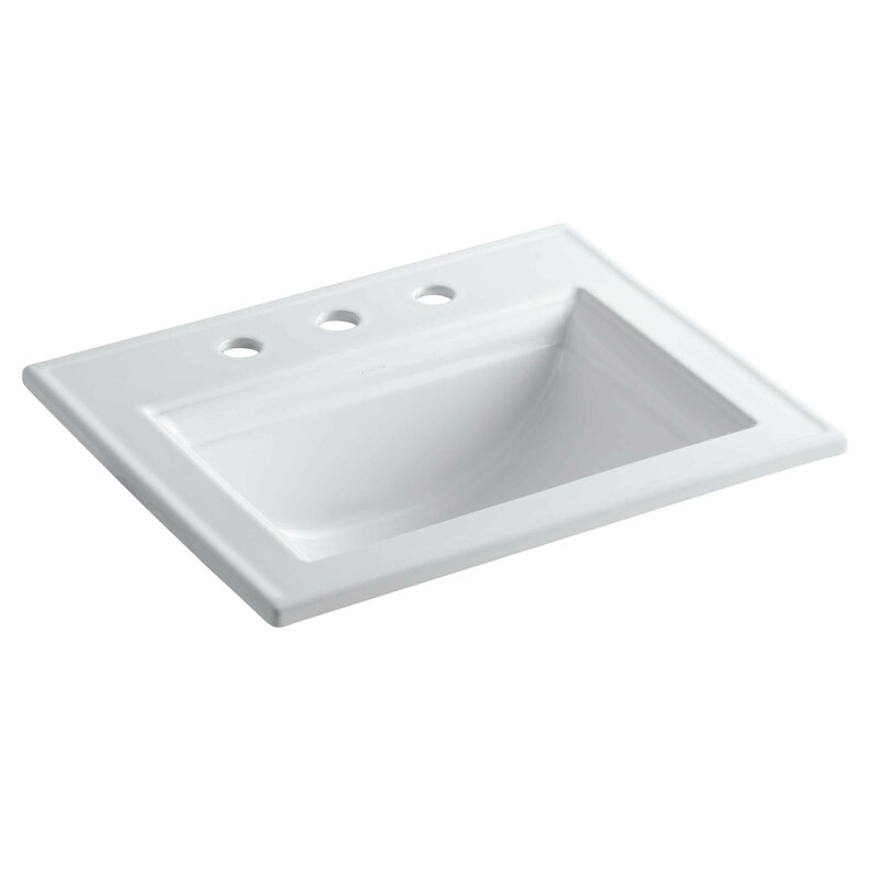 K-2337-8-0,33,47 Kohler Memoirs® Ceramic Rectangular Drop