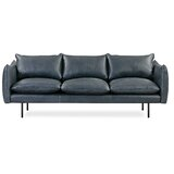 Rigney Leather Sofa by Brayden Studio®
