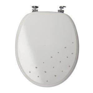 40cm round toilet seat. Diamante Round Toilet Seat Seats  Wayfair co uk