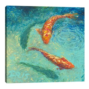 Nueve by Iris Scott Painting Print on Wrapped Canvas by Jaxson Rea