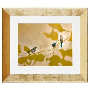 'Us Together' by Amy Paul Framed Painting Print by GreenBox Art