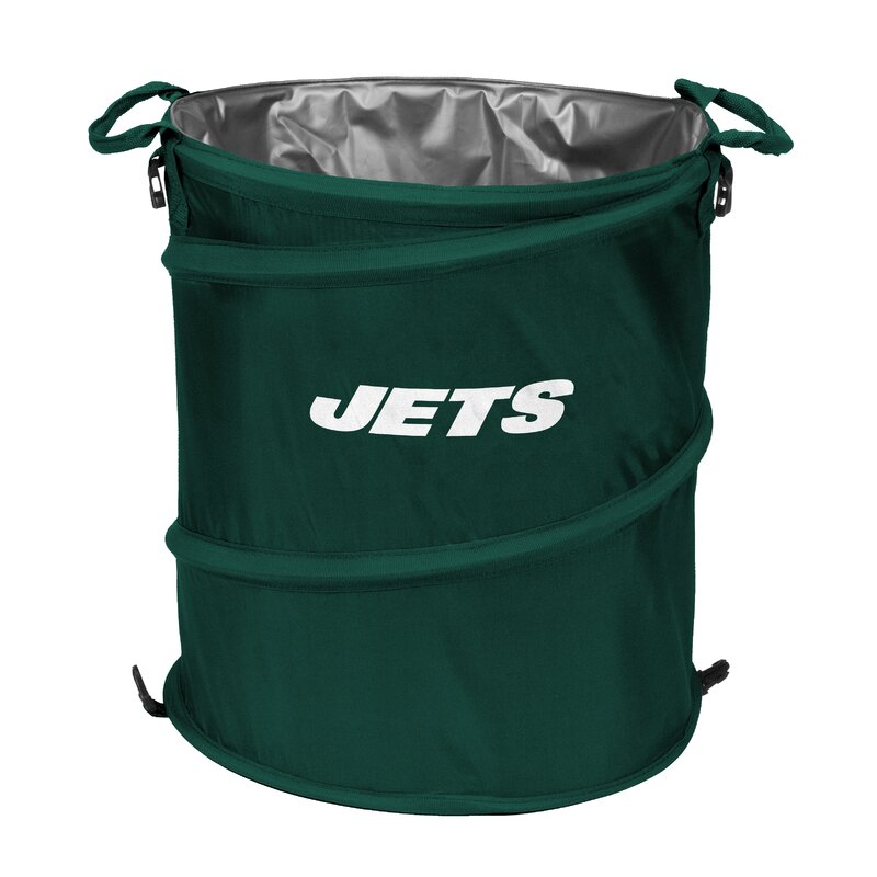 Waste Basket logo brands nfl collapsible 13 waste basket & reviews | wayfair