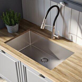 """Standart PRO™ 26"""" x 18 Undermount Kitchen Sink ByKraus"""