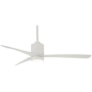 Reviews 56 Mojave 3 Blade LED Ceiling Fan with Remote By Minka Aire