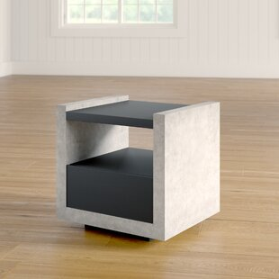 Evony Contemporary End Table 17 Stories
