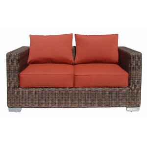 Madison Loveseat with Cushion World Wide Wicker