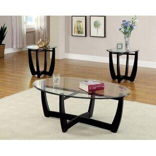 Great choice Mattie 3 Piece Coffee Table Set by Latitude Run