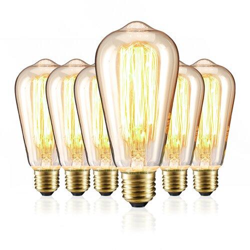 6-tlg. Glühlampe-Set 40W E27 Shamblin ClearAmbient | Lampen > Leuchtmittel > Mehr-Leuchtmittel | ClearAmbient