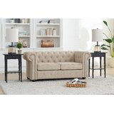 Mikesell Loveseat by Canora Grey