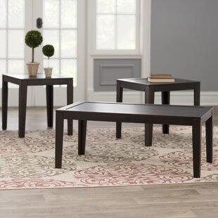 Review Elizabeth 3 Piece Coffee Table Set by Three Posts