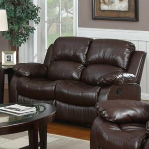 Bryce Double Reclining Loveseat : contemporary leather reclining sofa - islam-shia.org