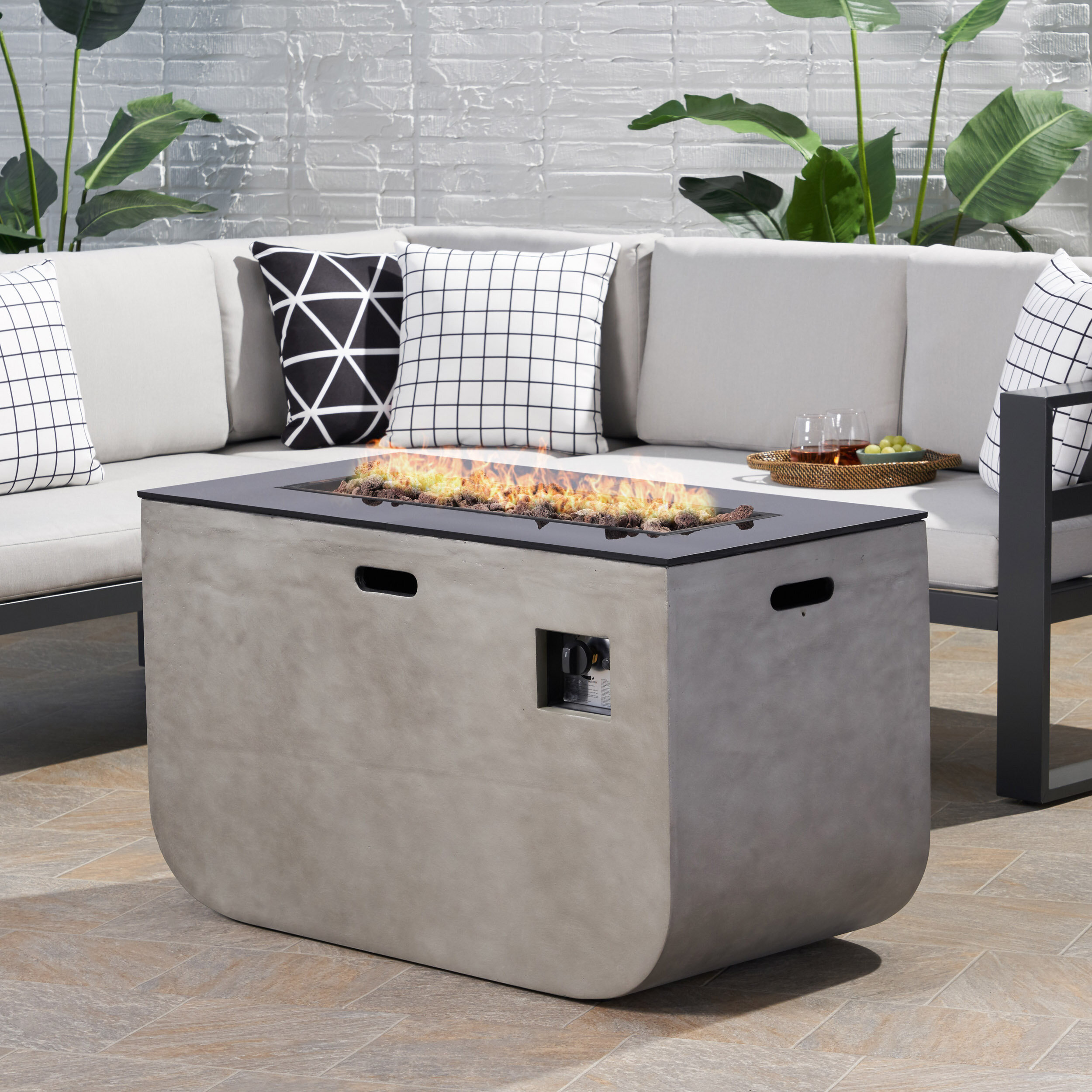 24 X 48 Table All Outdoor Fireplaces Fire Pits You Ll Love In 2021 Wayfair