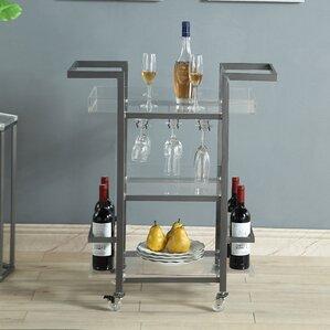 Sloane 3 Tier Bar Cart by Wade Logan
