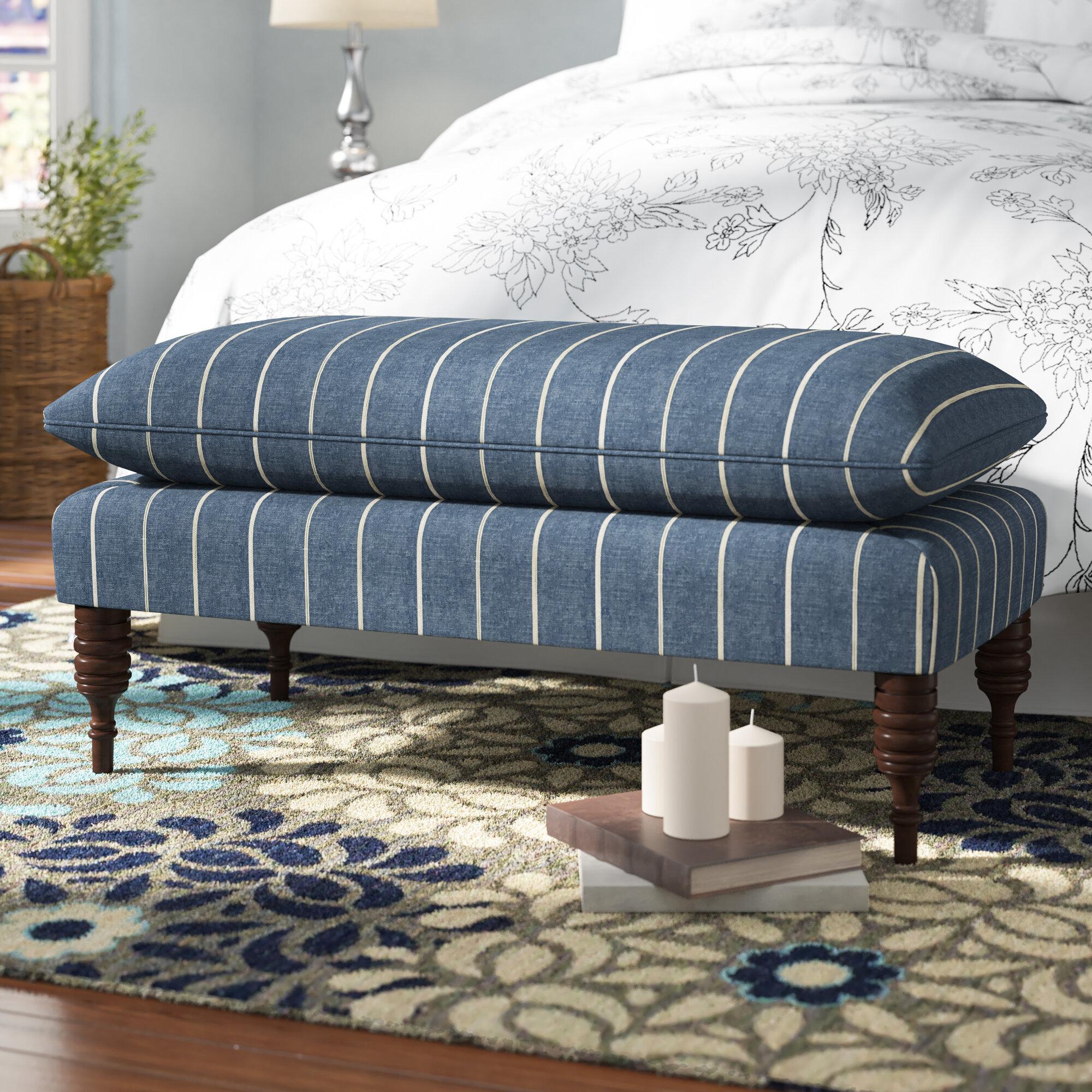 Astonishing Jordao Upholstered Wood Bench Evergreenethics Interior Chair Design Evergreenethicsorg