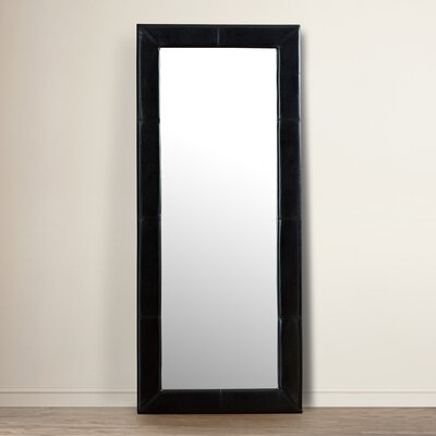 Modern Amp Contemporary Oversized Leaning Floor Mirror