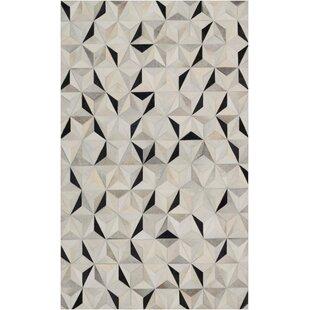 Camilla Modern Geometric Beige/Black Area Rug ByIvy Bronx