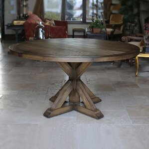 Reclaimed Wood Kitchen & Dining Tables You\'ll Love | Wayfair