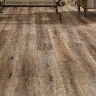 Restoration Wide Plank 8u0027u0027 X 51u0027u0027 X 12mm Laminate Flooring In Brushed Coffee