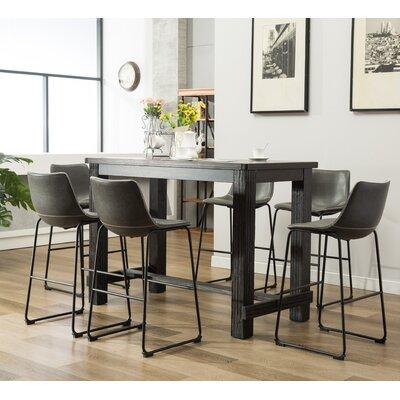 Trent austin design bamey 7 piece pub table set wayfair bamey 7 piece pub table set watchthetrailerfo