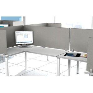 Enclave Panel Fabric Fold Desk Divider
