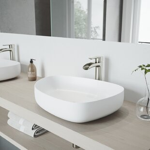 Affordable Price Matte Stone Specialty Vessel Bathroom Sink By VIGO