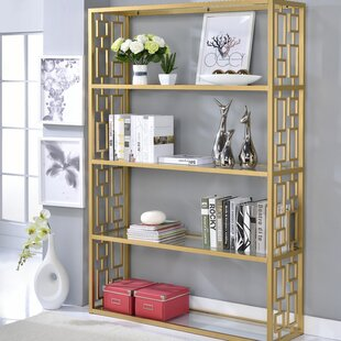 Bortz Etagere Bookcase Everly Quinn